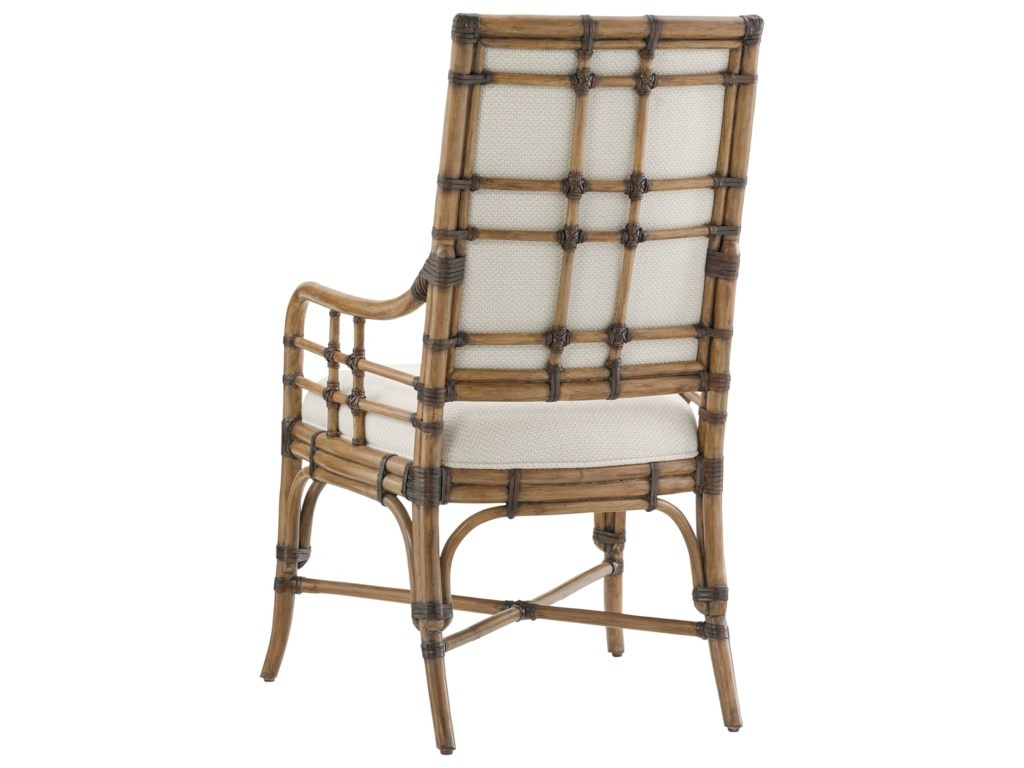 Tommy Bahama Home Twin PalmsSummer Isle Arm Chair (Married Fabric)