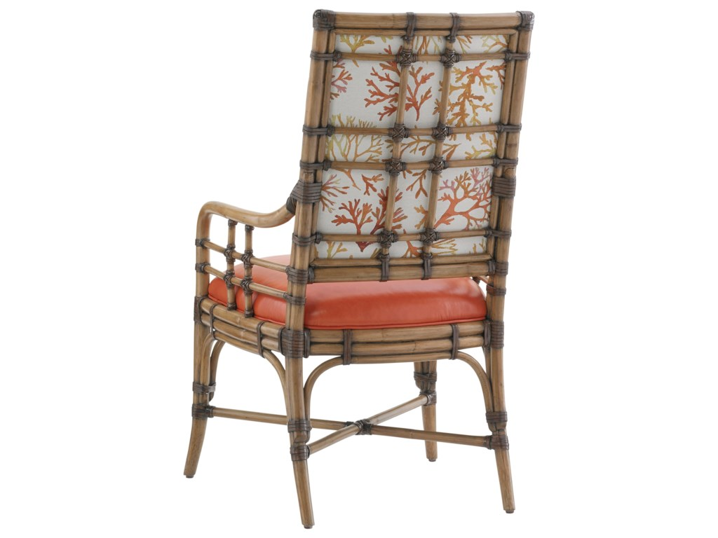 Tommy Bahama Home Twin PalmsCustomizable Summer Isle Arm Chair