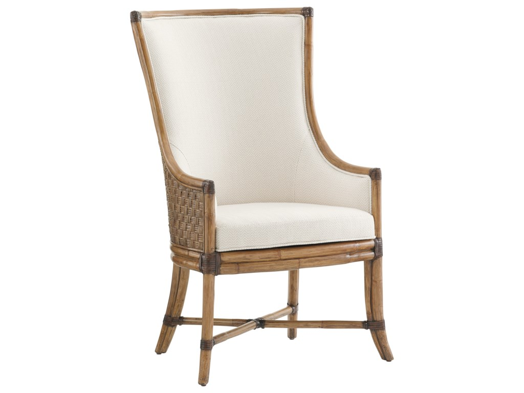 Tommy Bahama Home Twin PalmsBalfour Host Chair