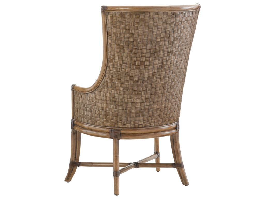 Tommy Bahama Home Twin PalmsCustomizable Balfour Host Chair