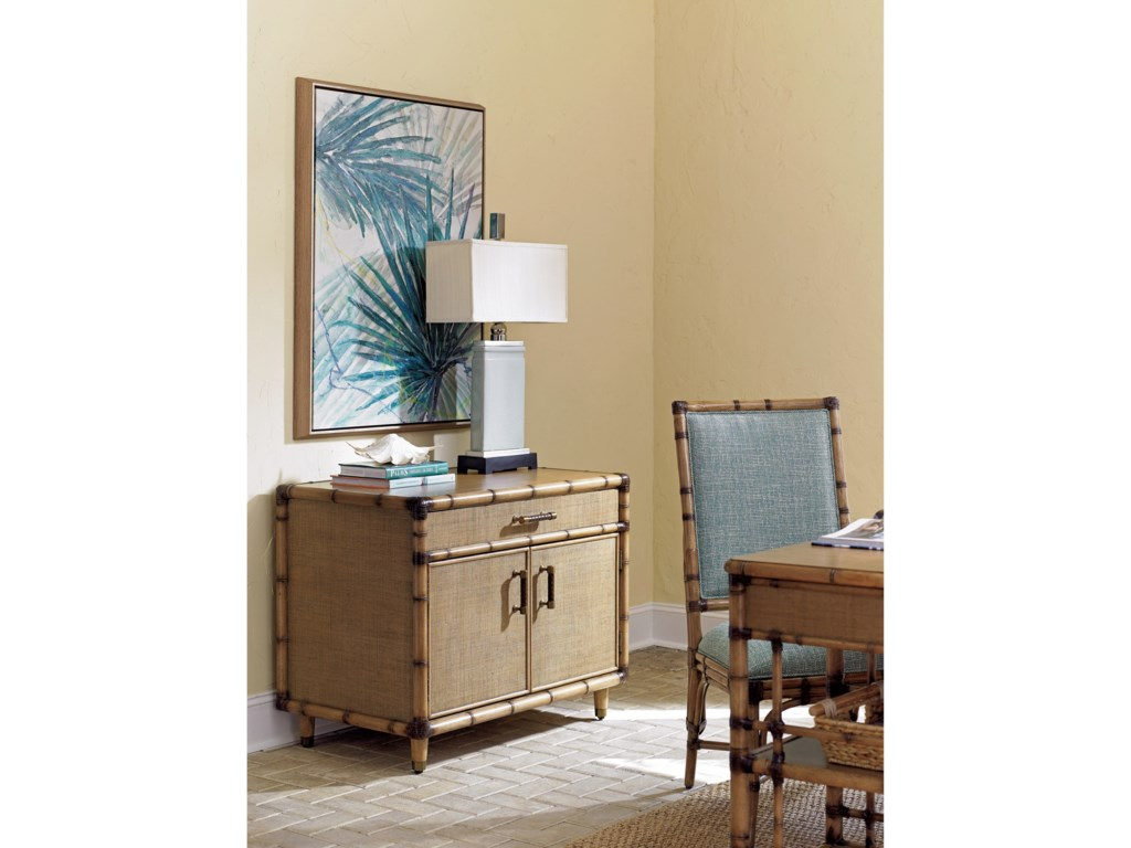 Tommy Bahama Home Twin PalmsLarimar Storage Chest