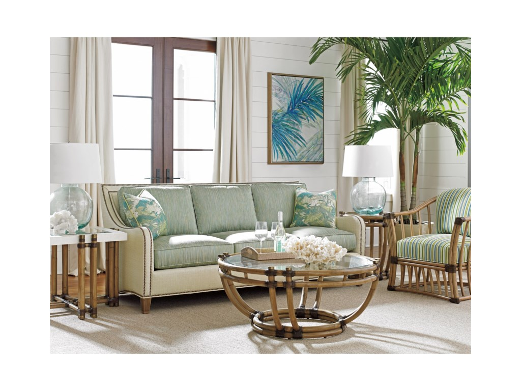 Tommy Bahama Home Twin PalmsTurtle Beach End Table