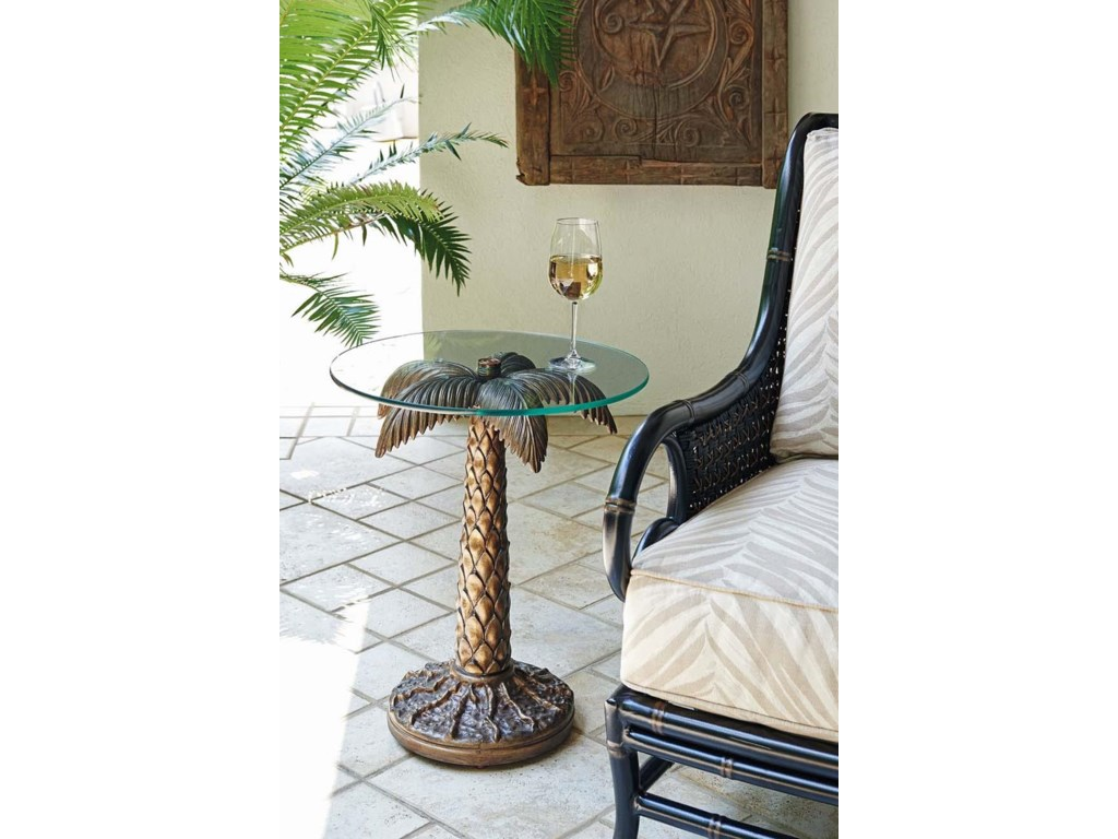 Tommy Bahama Outdoor Living Alfresco LivingPalm Tree Table