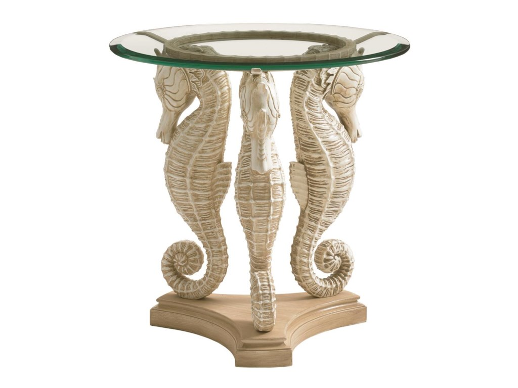 Tommy Bahama Outdoor Living Alfresco LivingSea Horse Table