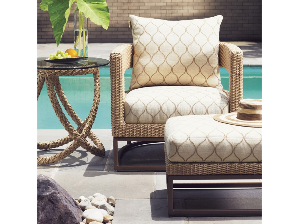 Tommy Bahama Outdoor Living AvianoOutdoor Chair and Ottoman