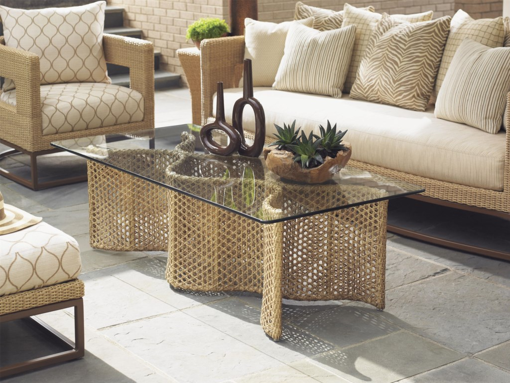 Tommy Bahama Outdoor Living AvianoOutdoor Cocktail Table