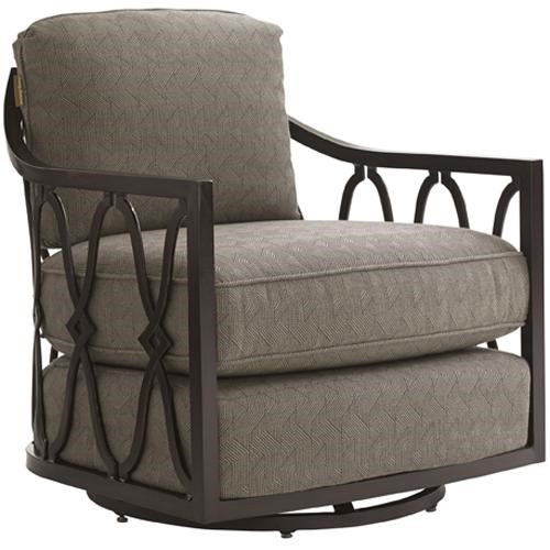 Tommy Bahama Outdoor Living Black SandsOutdoor Swivel Tub Chair ...