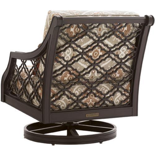 Tommy Bahama Outdoor Living Black SandsOutdoor Swivel Rocker Lounge Chair