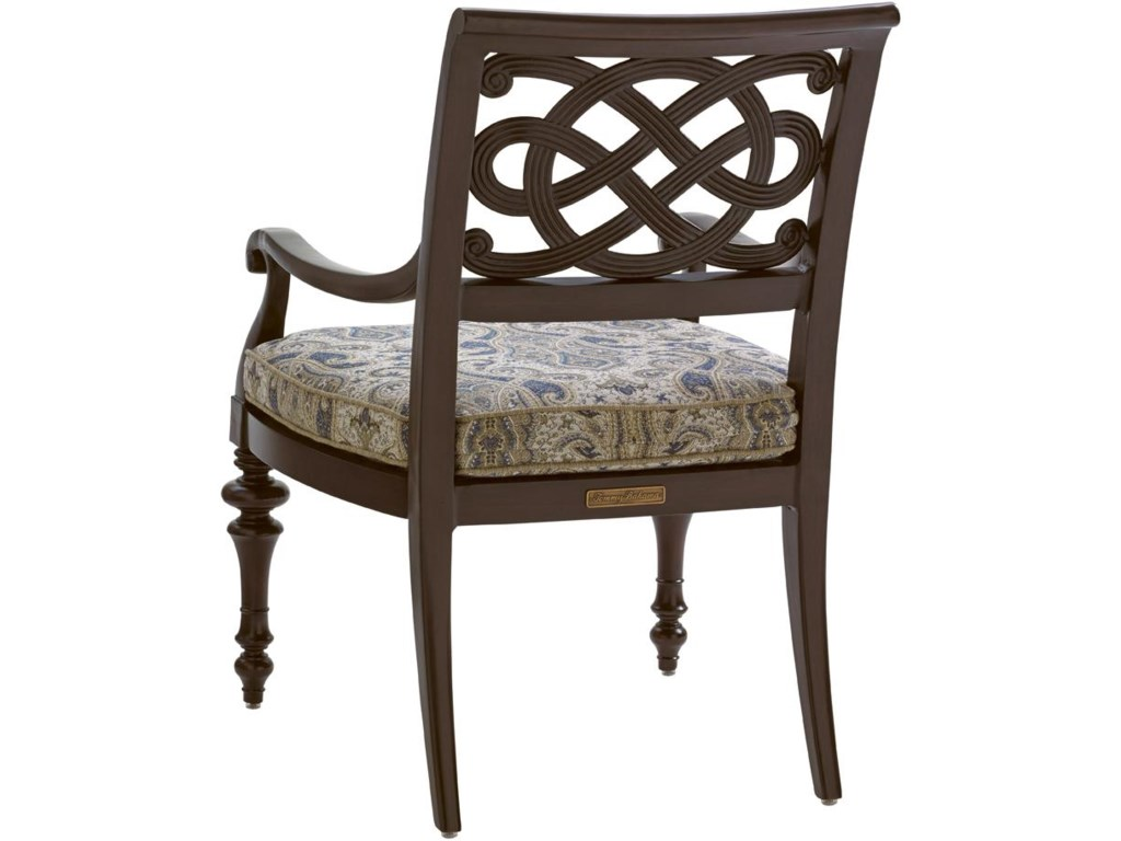 Tommy Bahama Outdoor Living Black SandsOutdoor Dining Arm Chair