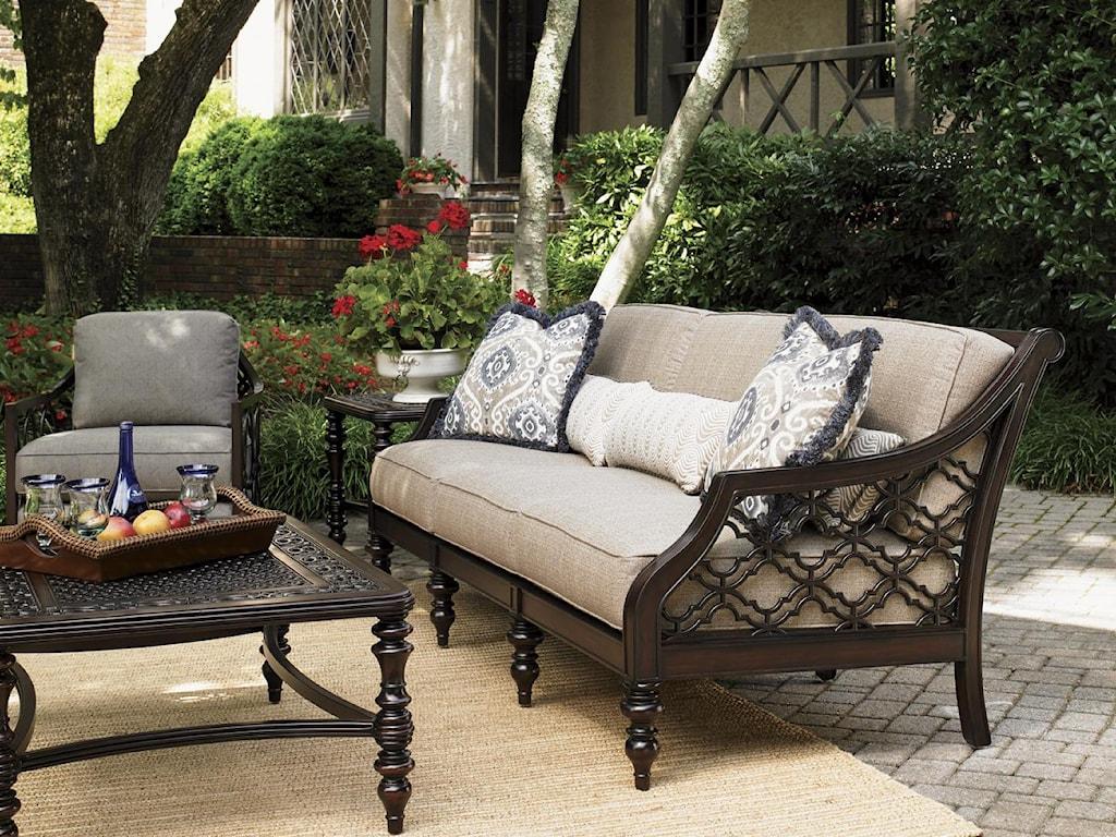 Tommy Bahama Outdoor Living Black SandsOutdoor Sofa