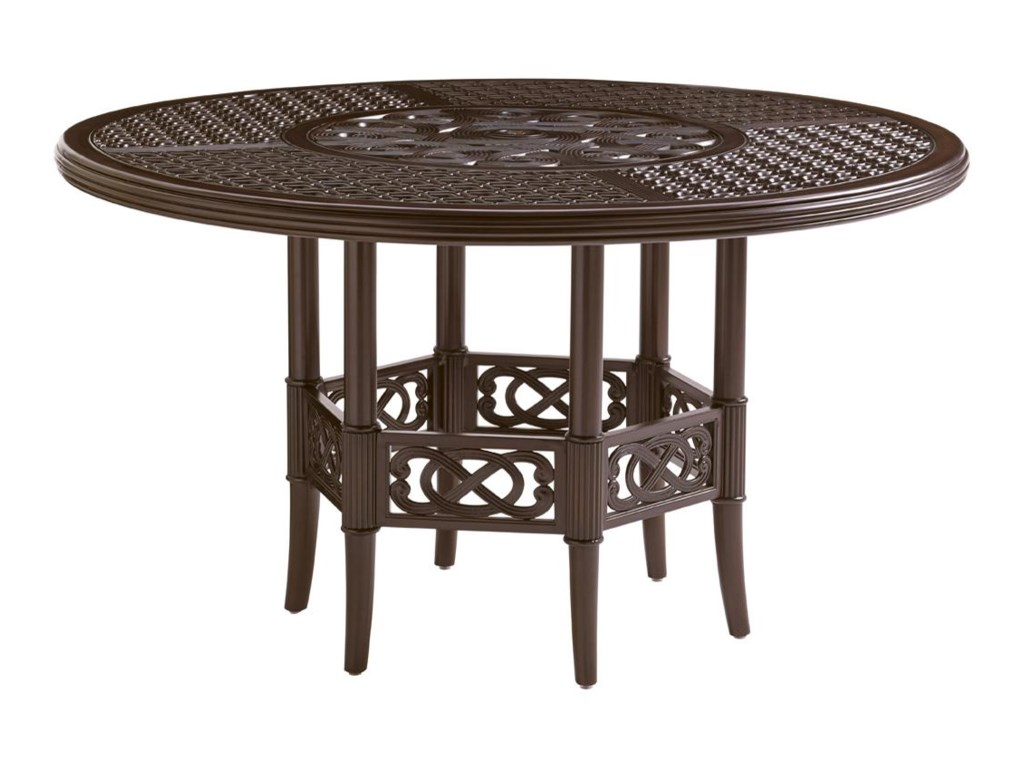 Tommy Bahama Outdoor Living Black SandsOutdoor Round Dining Table