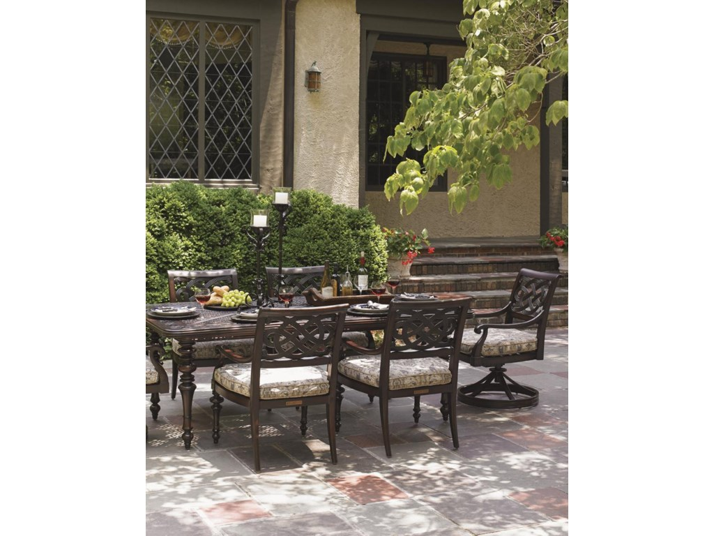 Tommy Bahama Outdoor Living Black SandsOutdoor Rectangular Dining Table