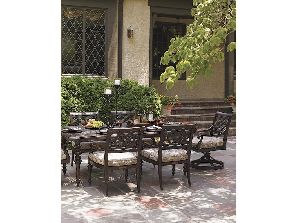 Tommy Bahama Outdoor Living Black SandsOutdoor Rectangular Dining Table