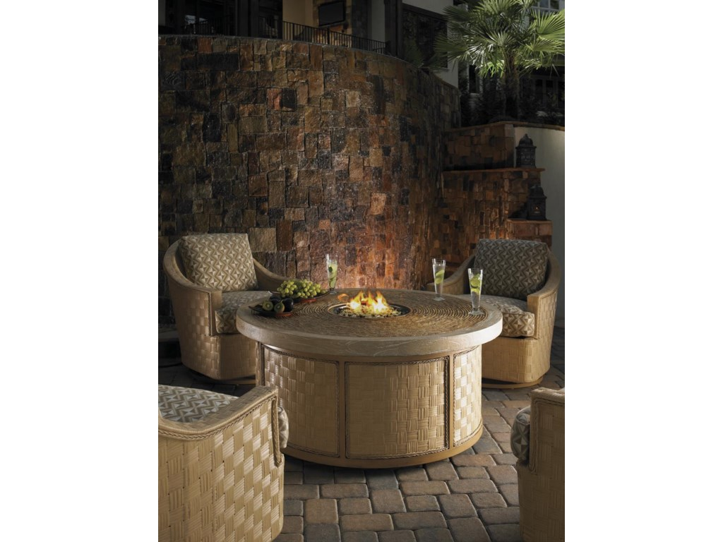 Shown with Swivel Glider Chairs