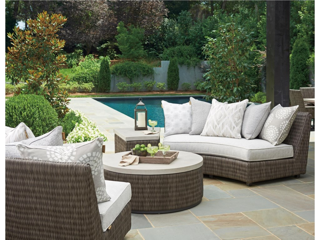Tommy Bahama Outdoor Living Cypress Point Ocean TerraceOutdoor Chat Set