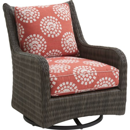 Outdoor Occasional Swivel Glider