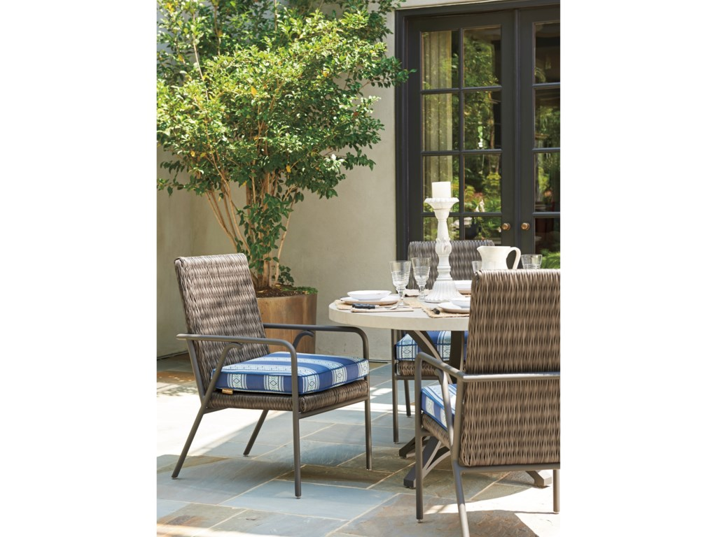 Tommy Bahama Outdoor Living Cypress Point Ocean TerraceSmall Outdoor Dining Chair