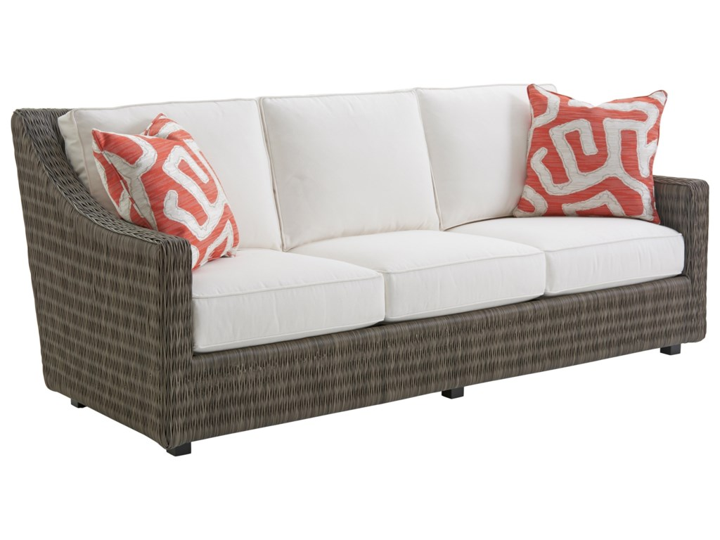 Tommy Bahama Outdoor Living Cypress Point Ocean TerraceDemi Sofa