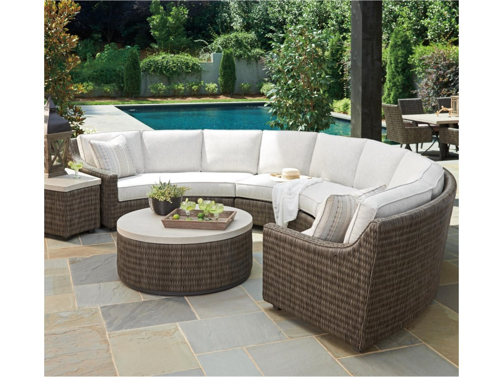 Tommy Bahama Outdoor Living Cypress Point Ocean Terrace 6 Seat
