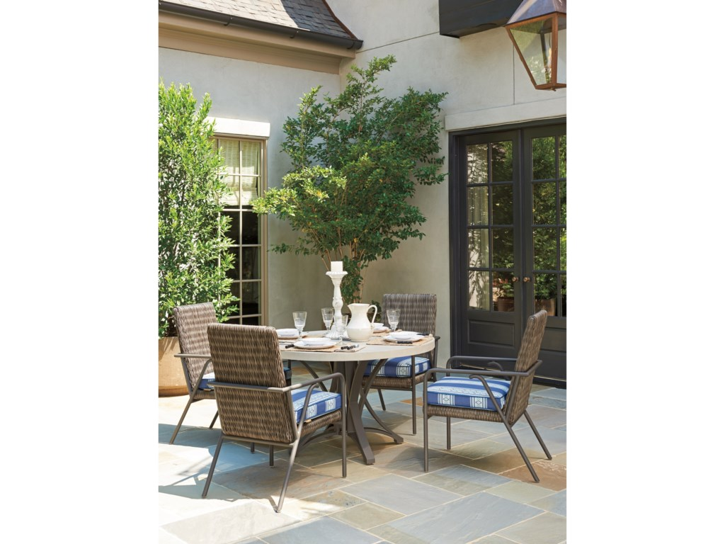 Tommy Bahama Outdoor Living Cypress Point Ocean TerraceOutdoor Dining Table