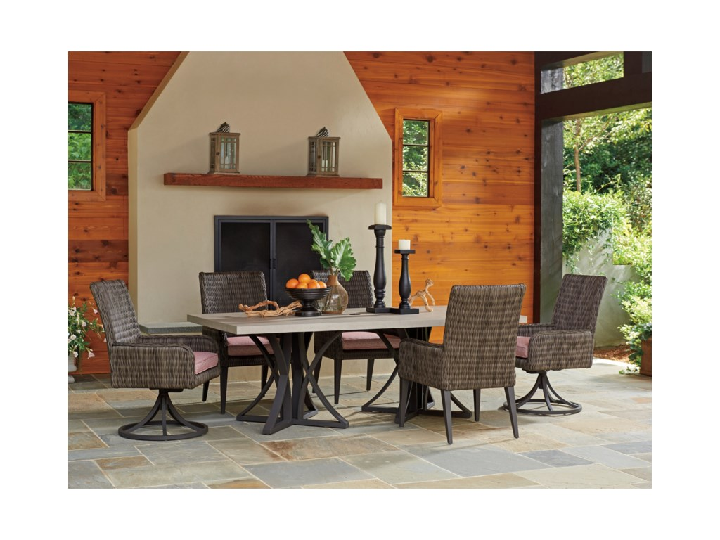 Tommy Bahama Outdoor Living Cypress Point Ocean TerraceOutdoor Rectangular Dining Table