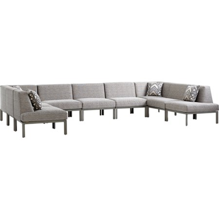 9 Pc Sectional