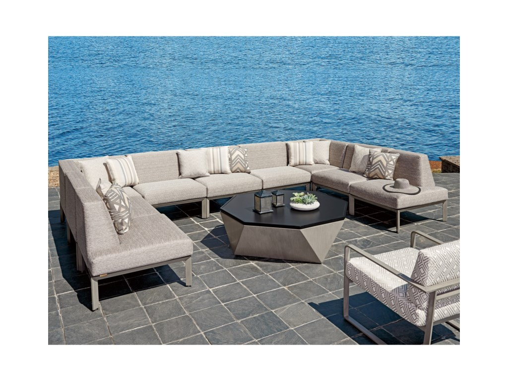 Tommy Bahama Outdoor Living Del Mar9 Pc Sectional