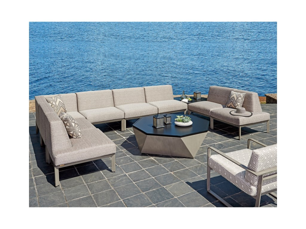 Tommy Bahama Outdoor Living Del Mar8 Pc Sectional
