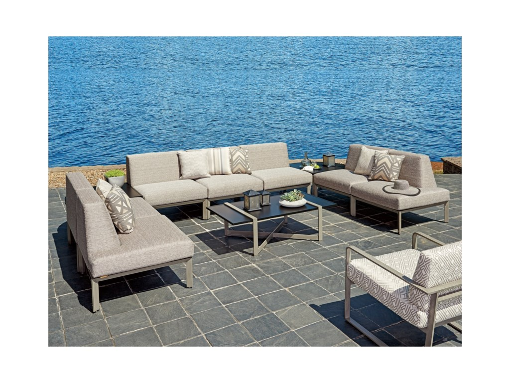 Tommy Bahama Outdoor Living Del Mar7 Pc Sectional