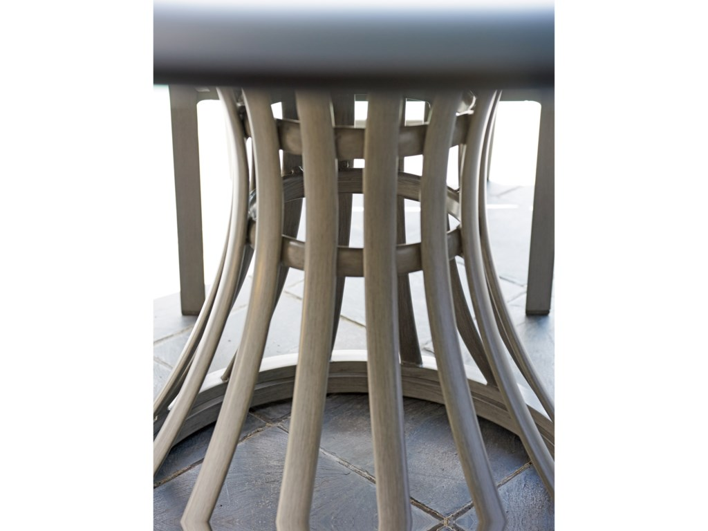 Tommy Bahama Outdoor Living Del MarRound Outdoor Dining Table