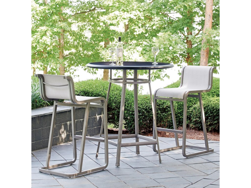 Tommy Bahama Outdoor Living Del MarOutdoor Bistro Set - Bar Height