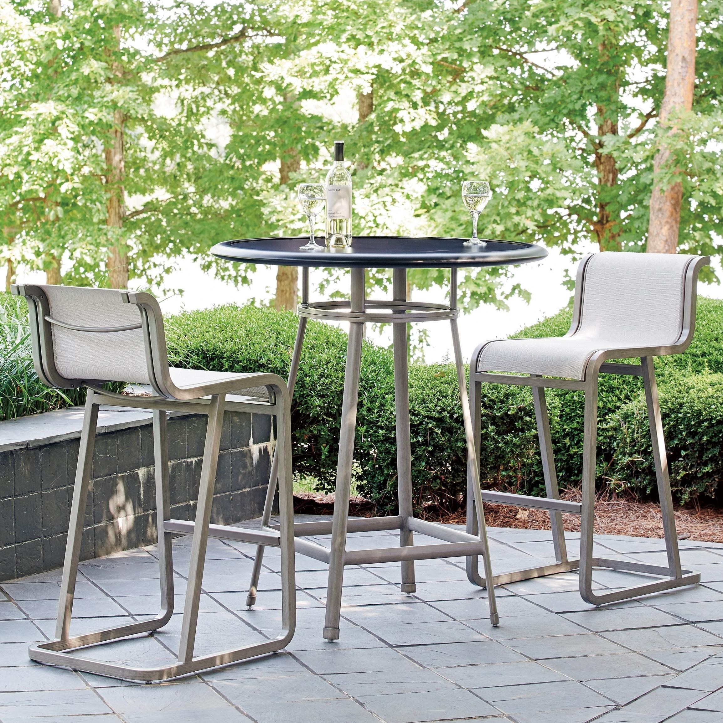 Tommy Bahama Outdoor Living Del MarOutdoor Bistro Set   Bar Height ...