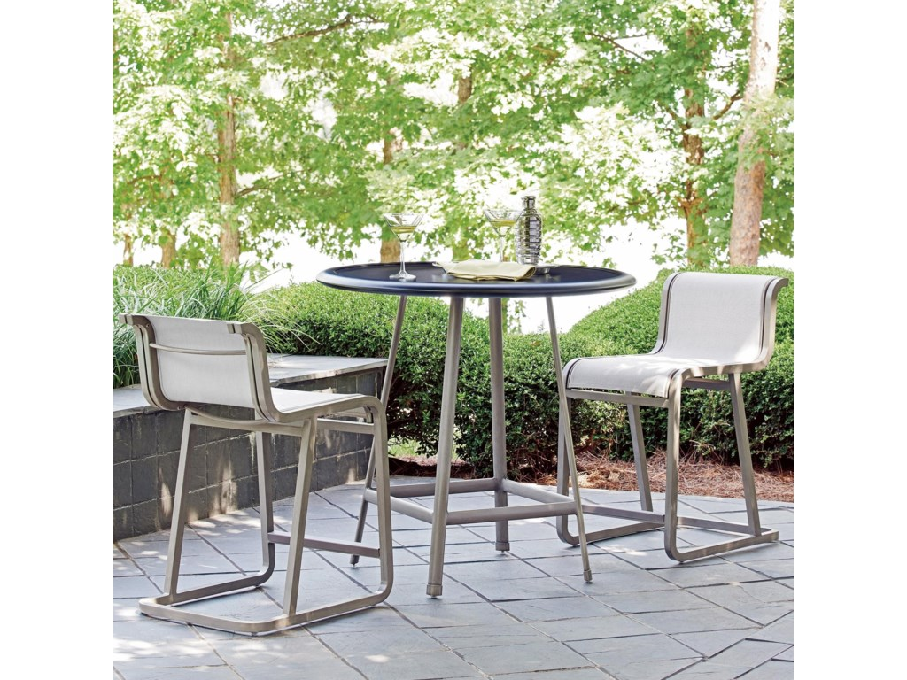 Tommy Bahama Outdoor Living Del MarOutdoor Bistro Set - Counter Height