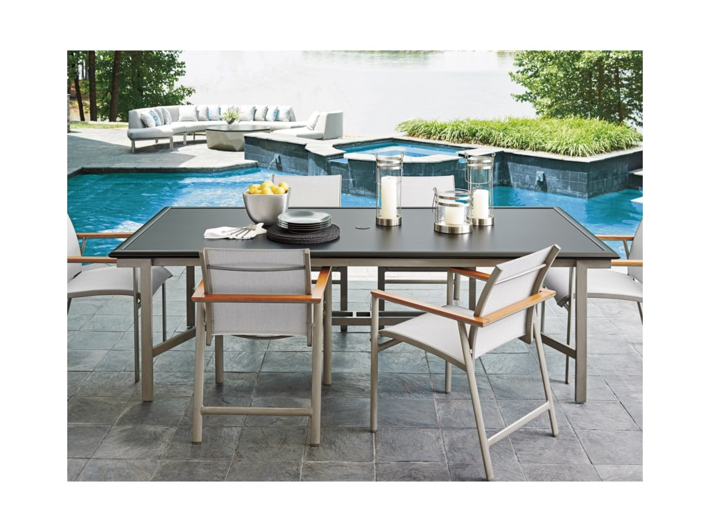 Tommy Bahama Outdoor Living Del Mar7 Pc Outdoor Dining Set