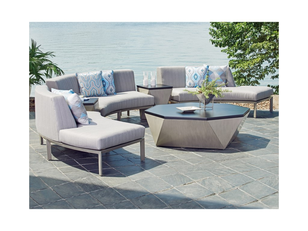 Tommy Bahama Outdoor Living Del MarOctagonal Cocktail Table