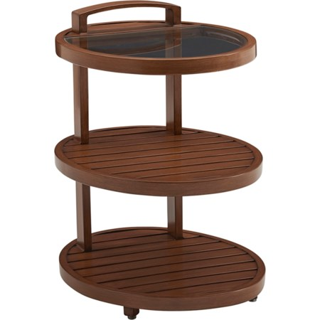 Tiered End Table