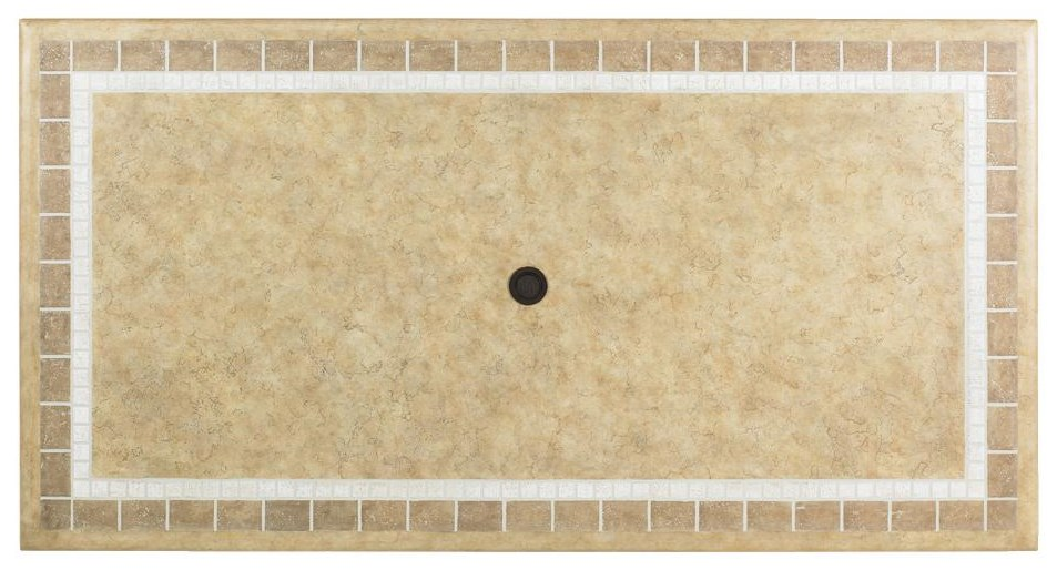 Top View of Weatherstone Table Top