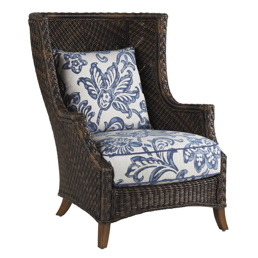 Tommy Bahama Outdoor Living Island Estate LanaiOutdoor Wing Chair ...