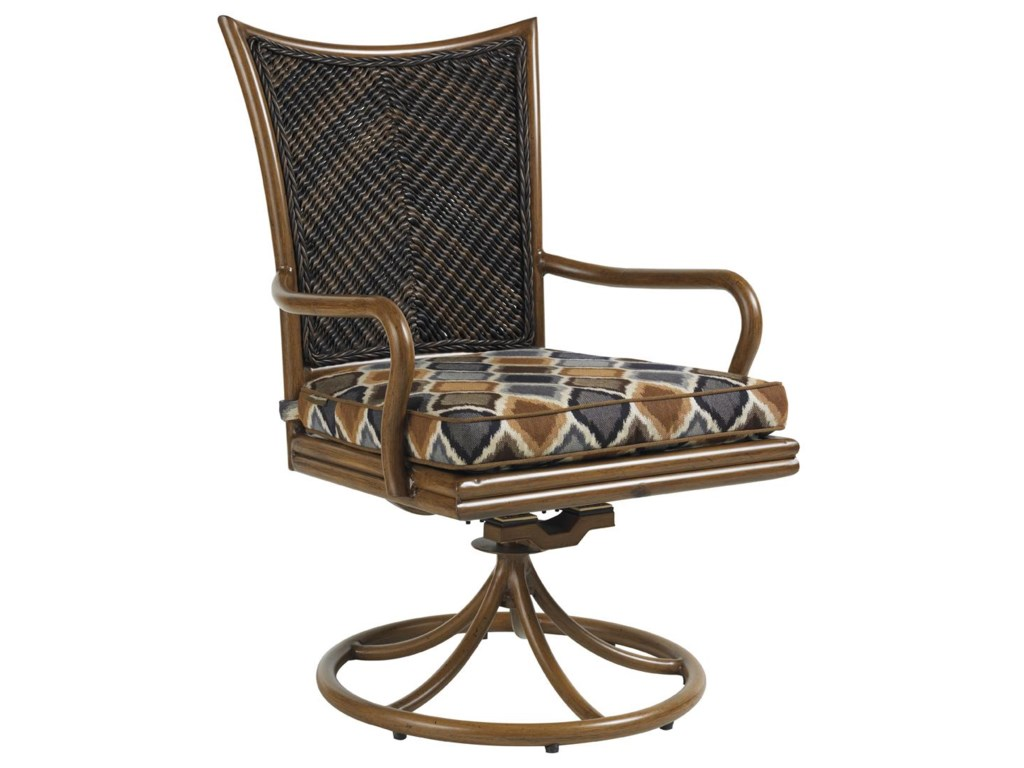 Tommy Bahama Outdoor Living Island Estate LanaiOutdoor Swivel Rocker Dining Chair