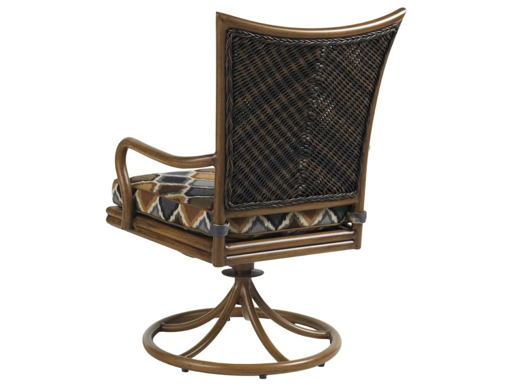 Tommy Bahama Outdoor Living Island Estate LanaiOutdoor Swivel Rocker Dining Chair