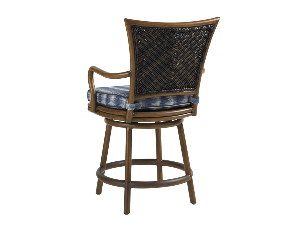 Tommy Bahama Outdoor Living Island Estate LanaiOutdoor Swivel Counter Stool