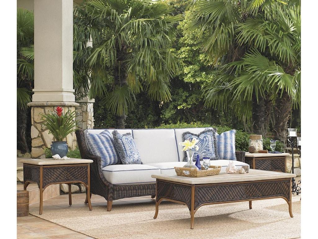Tommy Bahama Outdoor Living Island Estate Lanai4 Piece Patio Set