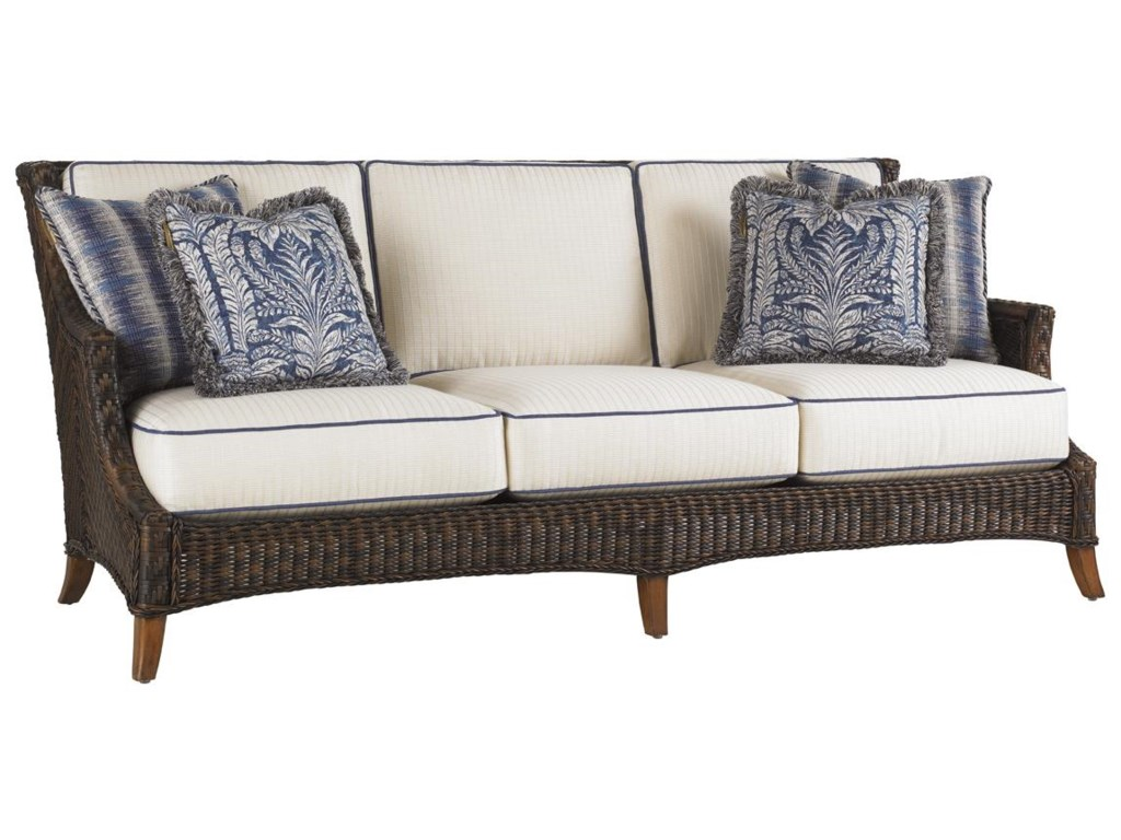 Tommy Bahama Outdoor Living Island Estate Lanai Outdoor Woven Wicker ...