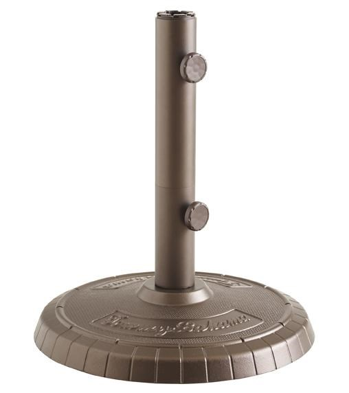 Cast Umbrella Base Provides Anchor and Stability