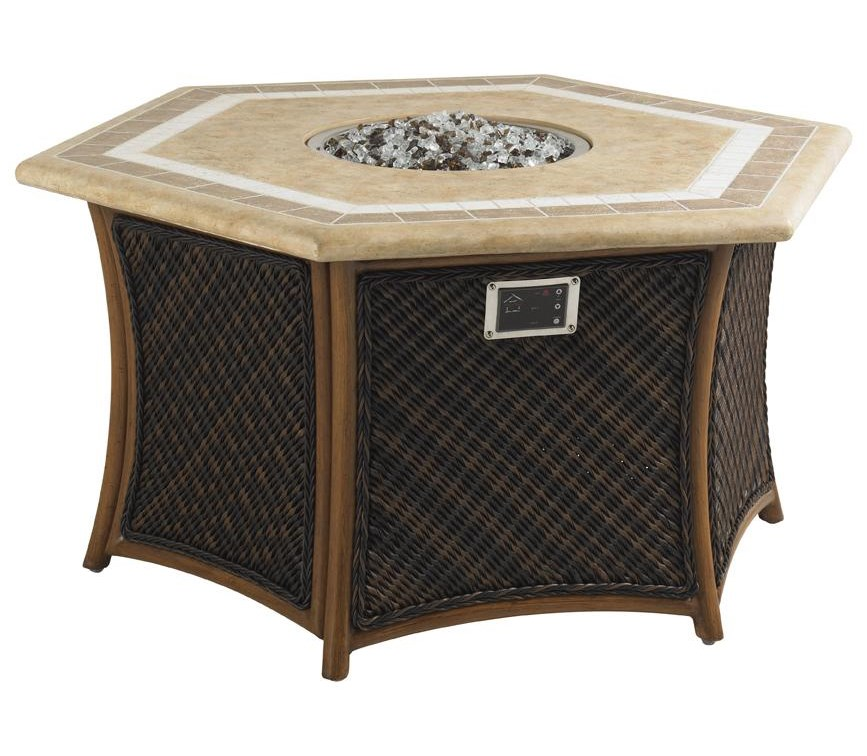 Tommy Bahama Outdoor Living Island Estate LanaiOutdoor Gas Fire Pit