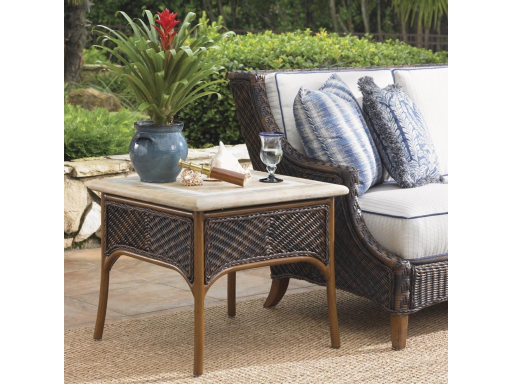 Shown with Outdoor Boxed Edge Sofa