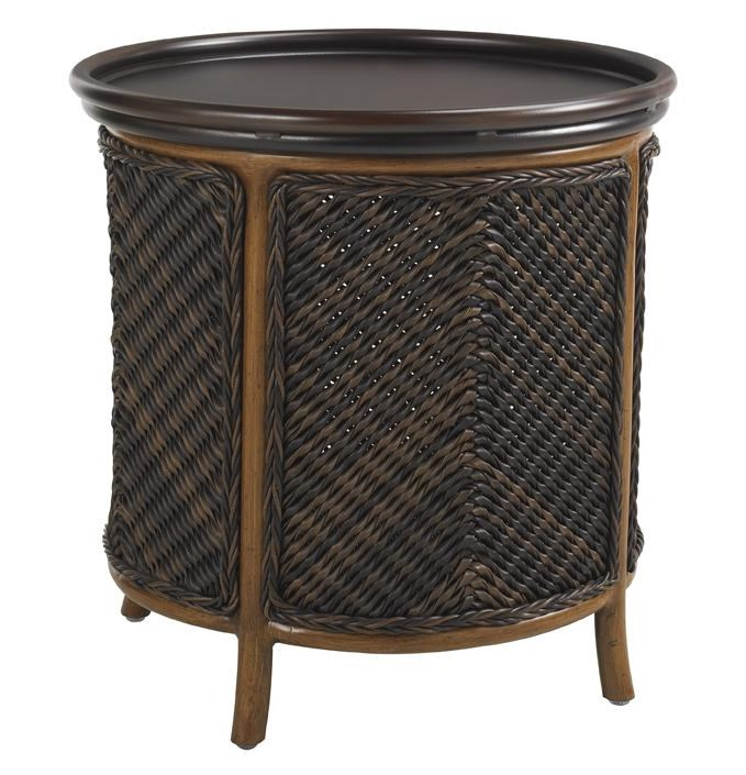 Tommy Bahama Outdoor Living Island Estate LanaiOutdoor Tray End Table