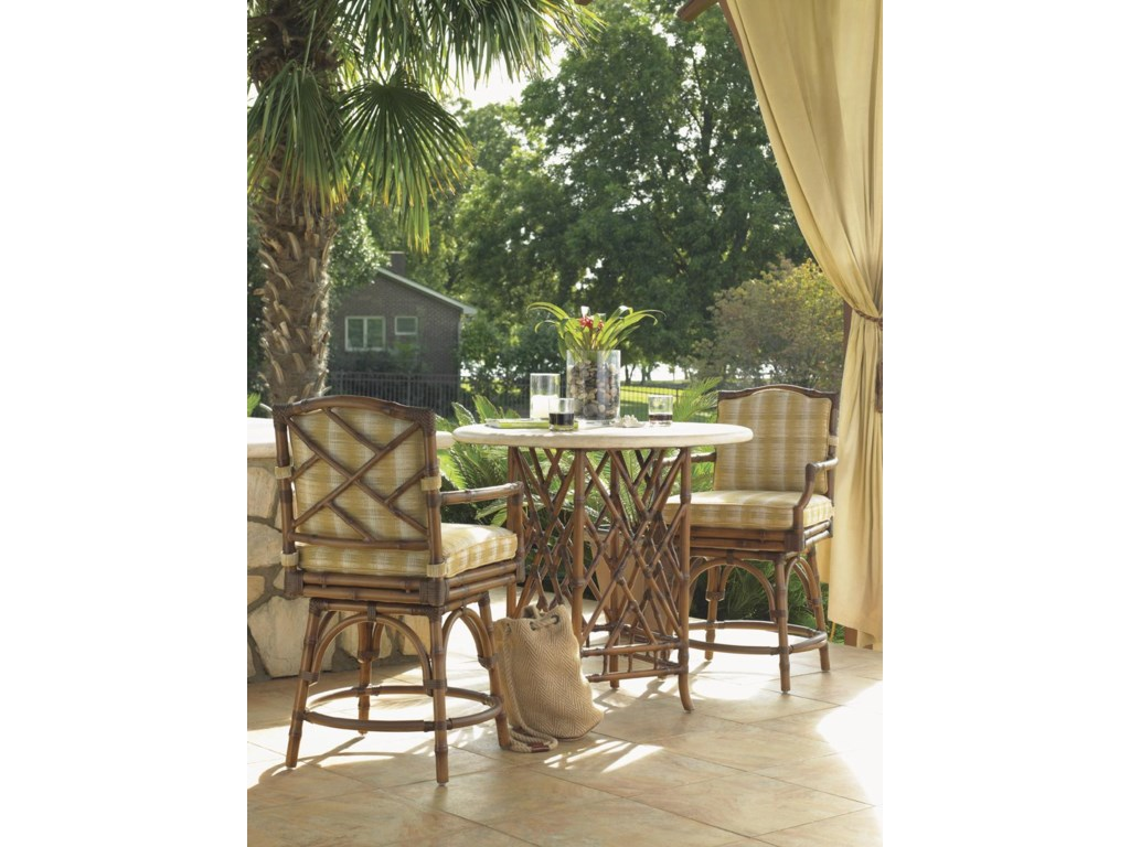 Tommy Bahama Outdoor Living Island Estate VerandaOutdoor Swivel Counter Stool
