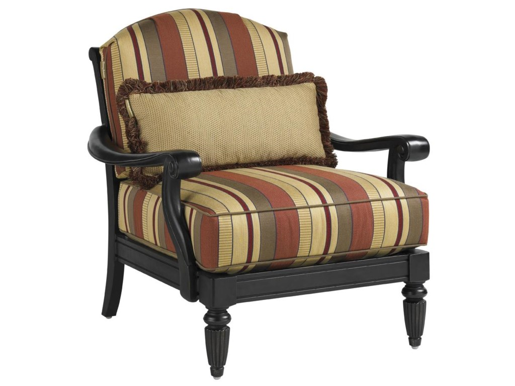 Tommy Bahama Outdoor Living Kingstown Sedona2 Lounge Chairs with Ottoman & Table Set