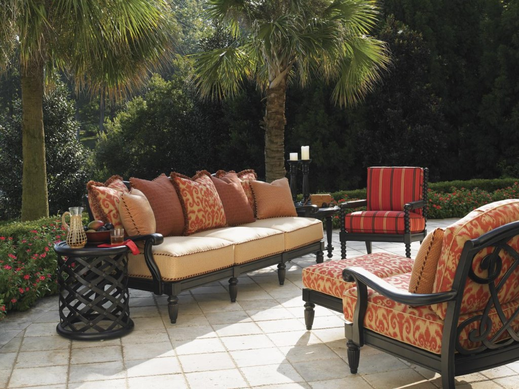 Tommy Bahama Outdoor Living Kingstown SedonaLounge Chair and Ottoman